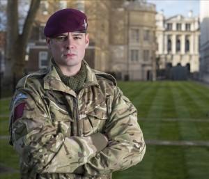 Victoria Cross recipient Lance Corporal Joshua Leakey