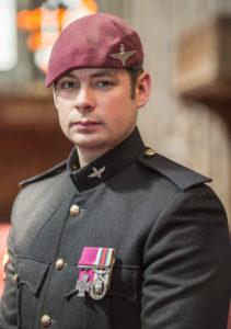 Corporal Josh Leakey VC Photographer: Sergeant Rupert Frere RLC (Phot)