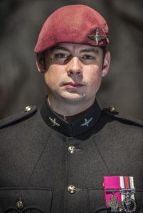 Corporal Josh Leakey VC