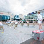 PT demonstration at Armed Forces Day Birmingham